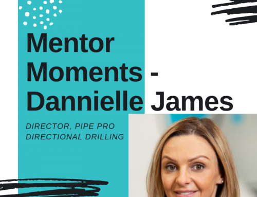 Mentor moment – Dannielle James